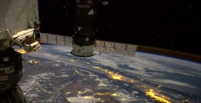 Vue de la station spatiale internationale
