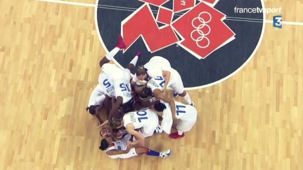 JO – Basket : L'équipe de France en demi-finales