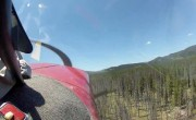Crash d'avion depuis l'intérieur du cockpit