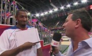 Boris Diaw et Tony Parker chambrent France 2