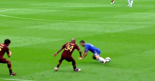 Eden Hazard Epic Fail