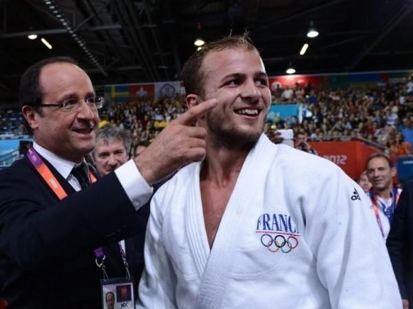François Hollande aux Jeux Olympiques