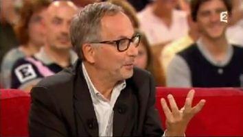 Fabrice Luchini et Irène Frain en plein flirt chez Michou Drucker