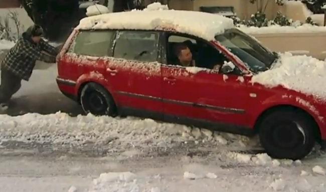 Les gens VS l'hiver